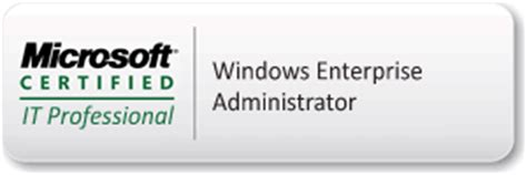 Mcitp Certified Resumes by Mcitp Certification For Enterprise Administrator On