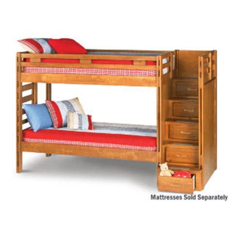 twin step bunk bed art van furniture