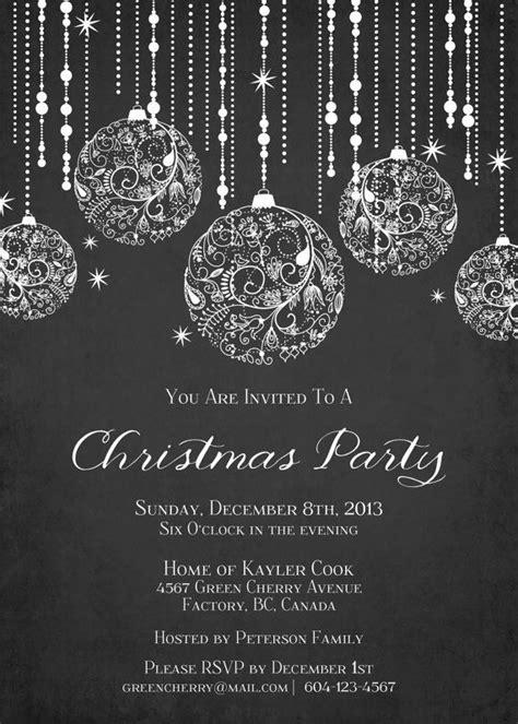 christmas wallpaper invitations printable sparkle invitation by greencherryfactory g r a p h i c d e s i g n