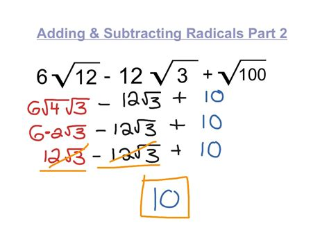how to do simple radical form showme simplify radical form