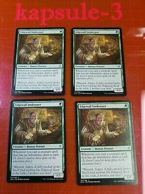 Remember, mtg arena will remind you if you're purchasing cards that will be rotated out of standard. 4x Edgewall Innkeeper   Throne of Eldraine   MTG Magic The Gathering Cards   eBay