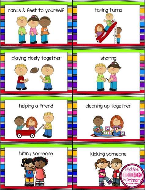 good choicespoor choices sorting cards preschool