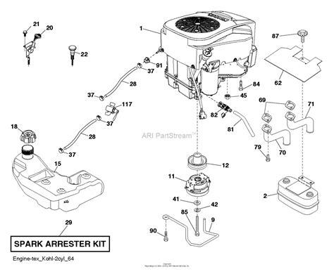 Husqvarna Gtcs Parts Diagram For Engine