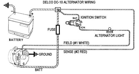 ac delco alternator wiring diagram eyelash me