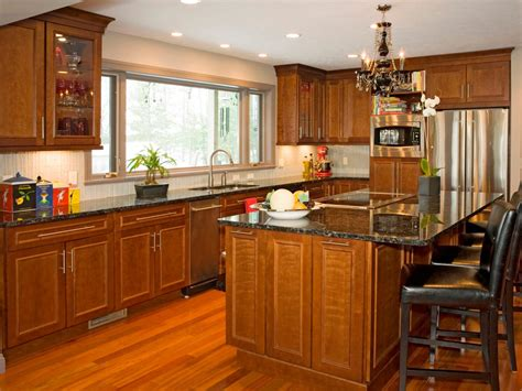 Cherry Cabinet Kitchens by Kitchen Cabinet Buying Guide Hgtv