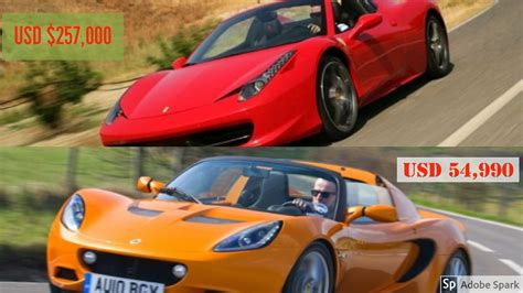 4 Affordable Supercars Against Expensive Ones