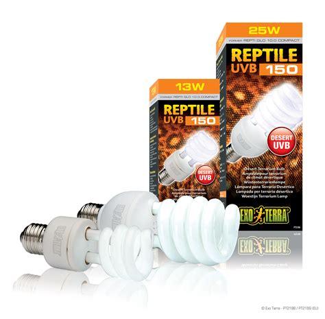 le uv pour reptile exo terra reptile uvb150 oule pour terrarium de climat d 233 sertique