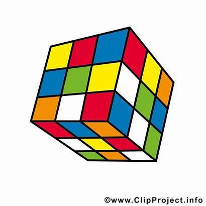 Cube Clipart Magic Rubiks Clip Rubik Postcard