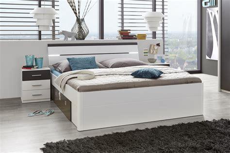 Doppelbett Mit Nachtkommoden Bett 180 X 200 Cm Ehebett