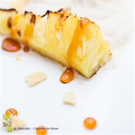 boutique du bruit dans la cuisine ananas rôti et sa chantilly au l 39 univers de