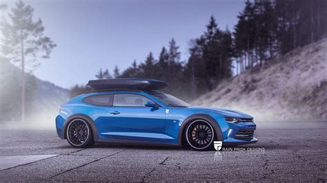 crazy station wagon renders based  sports cars gtspirit