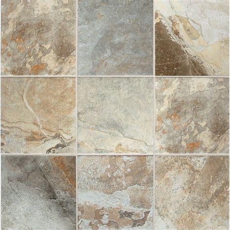 rustic slate cascade glazed porcelain indoor outdoor floor