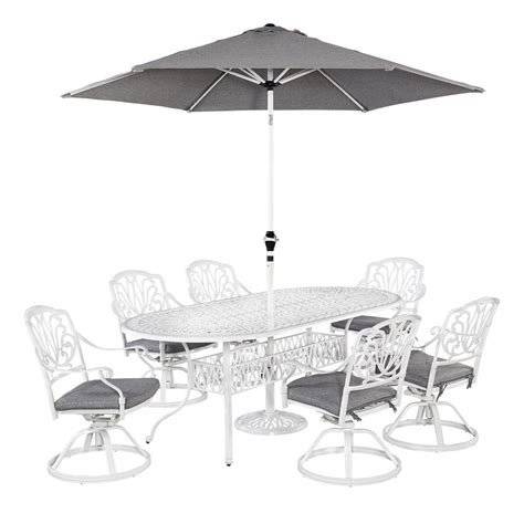 home styles floral blossom 7 piece patio dining set with