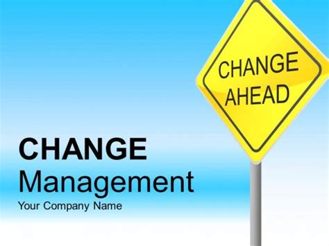 change management  businesses powerpoint complete deck