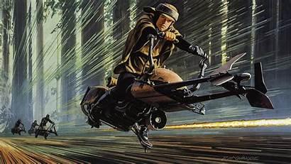 Endor Mcquarrie Luke Ralph Racing Through