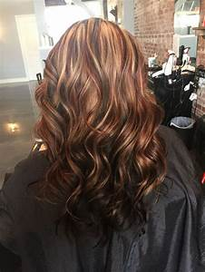 Image result for highlights and lowlights dark brown hair ...