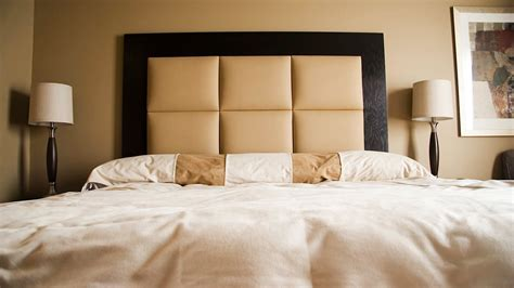 Bedroom Bathroom Chic Headboards With White Bedspread