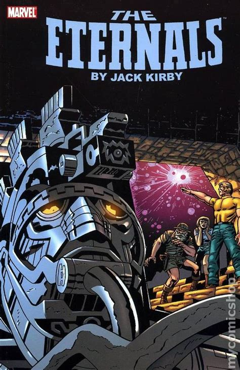 Eternals TPB (2008 Marvel) By Jack Kirby comic books