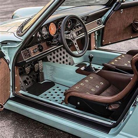 Custom Porsche Interior car interior ideas for you sick rides porsche cars