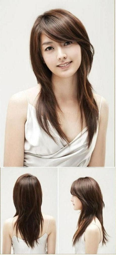 popular korean long haircuts  women