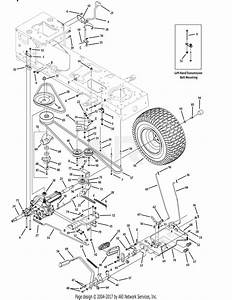 Troy Bilt 13av60kg011 Bronco  2008  Parts Diagram For