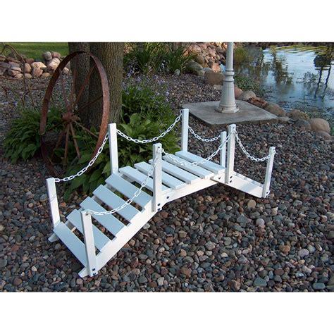 prairie leisure 174 decorative garden bridge with post and