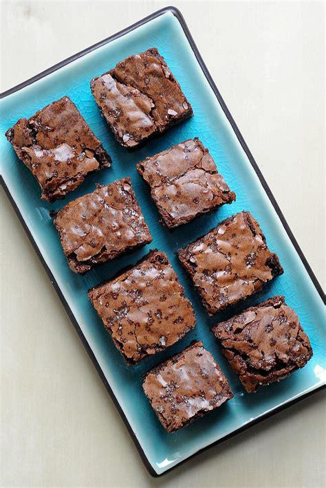 fudgy brownies super bowl recipes popsugar food photo