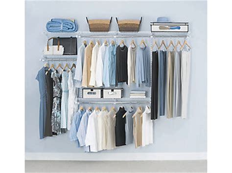 Rubber Made Closet Organizers by 4 8 Ft Configurations 174 Custom Closet Kit Rubbermaid
