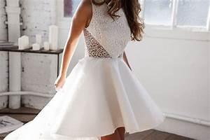 Robe Courte Mariée : robe de mari e courte devant meryl suissa ~ Melissatoandfro.com Idées de Décoration
