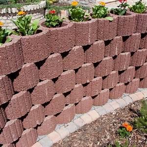 Beton Pflanzkübel Als Mauer : pflanzringe beton setzen gartengestaltung rot ziegelrot rund sammetblume sonnig mauer garten ~ Udekor.club Haus und Dekorationen