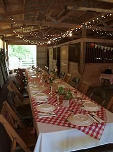 ohio thoughts italian dinner party With barn party lights