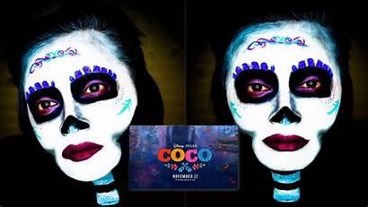 Coco Makeup Halloween Muertos Dia Tutorial Disney