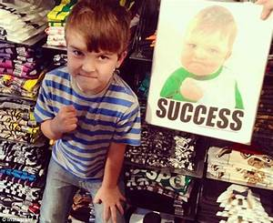 Sam Griner from 'Success Kid' meme is trying to get dad a ...