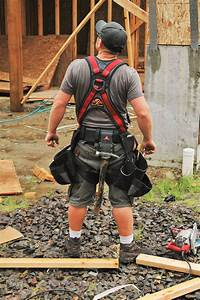 Deluxe Fall Protection Harness With Built