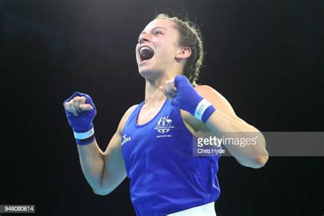 Boxer skye nicolson says she regularly shocks her male sparring partners in the ring as she hones her skills to try and win gold at the commonwealth games on queensland's gold coast. 57 Kg Photos et images de collection | Getty Images