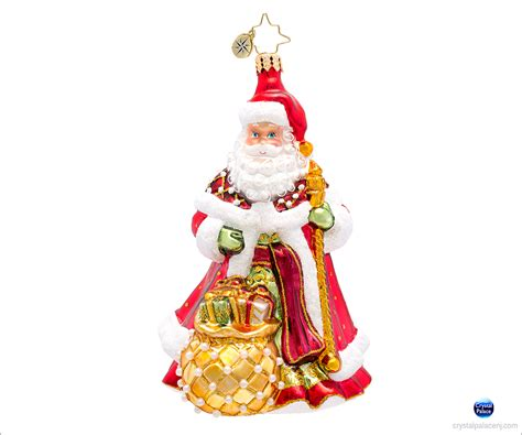 christopher radko bountyful noel christmas ornament