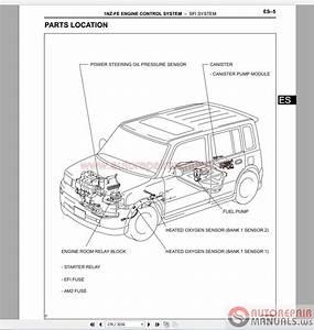 Toyota Scion Xb 2005-2007 Service  U0026 Repair Manual