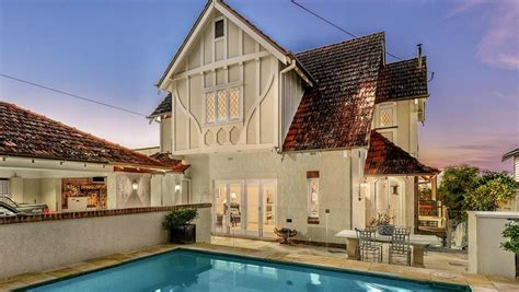Get Look Tudor Style by Tudor Revival Style Home With Secure Gated Entry