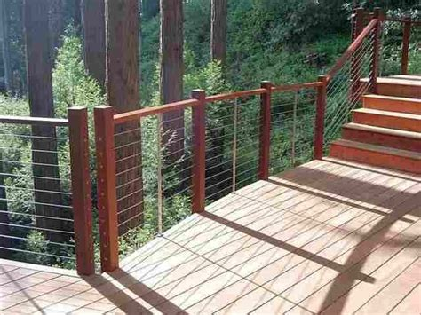 pin  residential cable railing