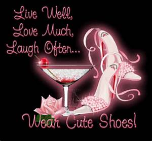 Live Laugh Often Love Much : live well love much laugh often wear cute shoes ~ Markanthonyermac.com Haus und Dekorationen