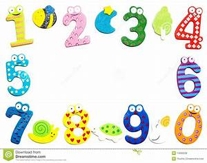 Math Numbers Border Clipart