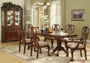brussels traditional dining room set 7 set
