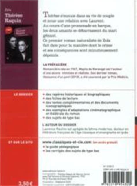 Therese Raquin Resume Court by Livre Th 233 R 232 Se Raquin 201 Mile Zola
