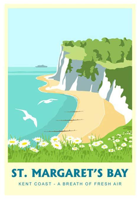 St. Margaret's Bay | Travel posters, Vintage travel ...