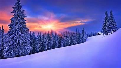 Winter Desktop Landscapes Landscape Snow Backgrounds Wallpapers