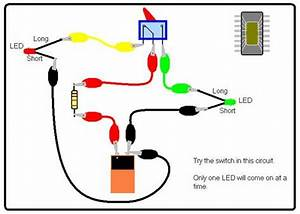 Switch With Two  Led Circuits  Electricalengineering  Eee