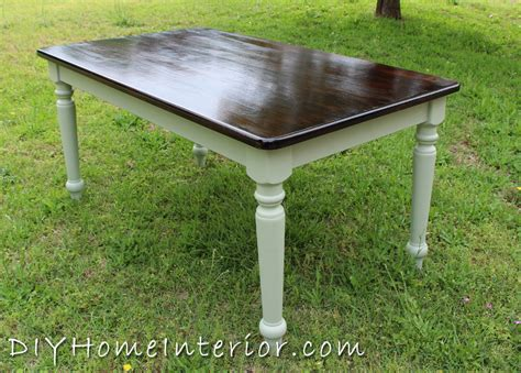 sanding and staining wood table refinishing a dining room table with paint and wood stain