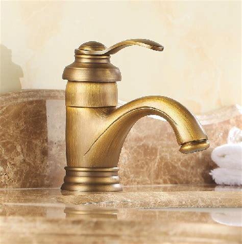 Brass Sink Taps Bathroom by Antique Inspired Brass Bathroom Sink Tap Polished Brass