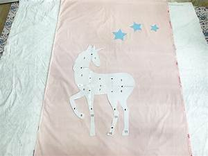 Reverse Appliqu U00e9 Unicorn Quilt Tutorial