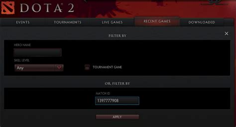 Contoh Rapay by But Pro Dota 2 Cara Replay Dota 2